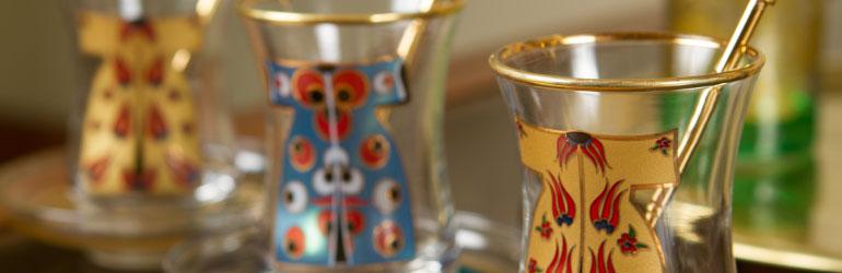إكسسوارات الشاي العربي